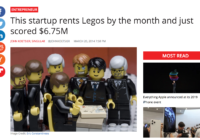 Pley, that hot start-up that rented Legos by the month inexplicably failed.